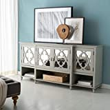 Safavieh Couture Home Juliette Contemporary Grey Mirrored Sideboard