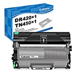 Galada Compatible Toner Cartridge and Drum Unit Replacement for Brother DR-420 DR420 TN-450 TN450 for DCP-7060D 7065DN HL-2240D 2270DW 2280DW MFC-7360N 7460DN 7860DW Intellifax-2840 2940(Combo Pack)