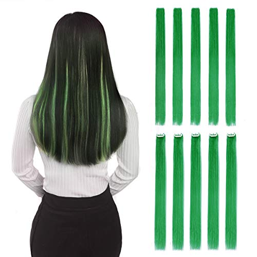 Colored Clip in Hair Extensions 22