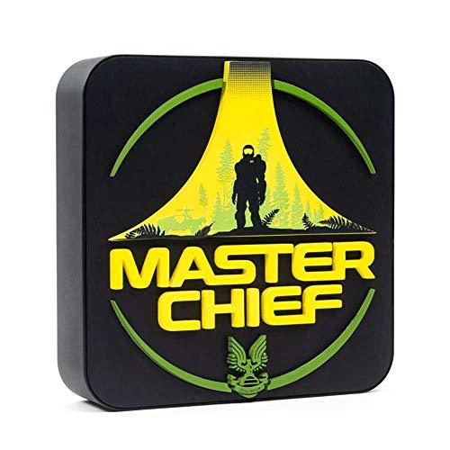 Halo Lámpara Masterchief, Multicolor, 22,2 x 21,4 x 6,9 cm