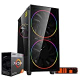 Pc gaming ryzen 3 3200G Cpu quadcore 4.00ghz,Ssd m.2 256gb,Ram 8gb Ddr4 3200 mhz,Radeon Vega 8,Wi Fi 300mbps, pc desktop Gaming assemblato