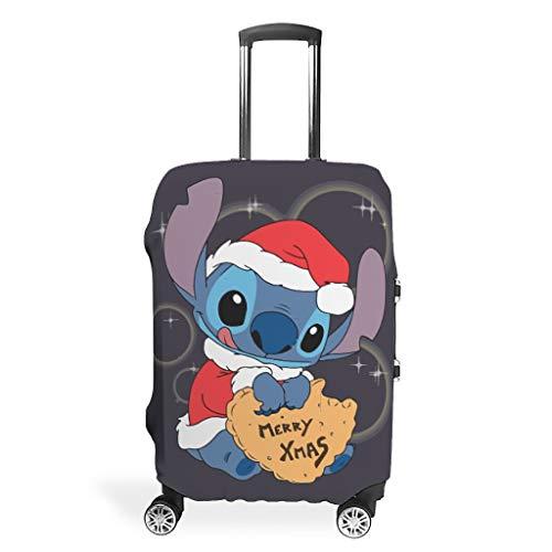 Funda protectora para maleta de viaje con texto en inglés 'Merry Christmas' (apta para maleta de 39 a 42 pulgadas)