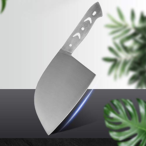 Meat Cleaver, Cleaver Knife, Chinese Cleaver 7cr17 Stainless Steel Knife Handmade Clad Steel Diy Blank Blade Anti-rust Kitchen Knives Meat Vege Slicer Tools Chef Knife