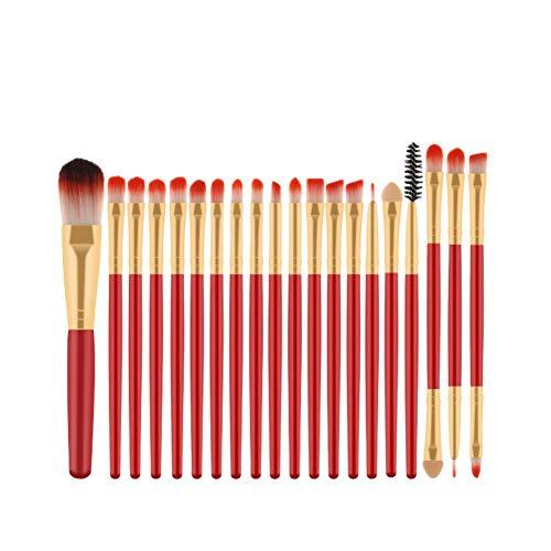 Chytaii. Pinceau de Maquillage Kit de Pinceaux Maquillage Professionnel Maquillage Brosses Cosmétique Brosse Ensemble Brosse à Maquillage pour les Poudres, Anticernes, Contours, Fonds de Teints 20pcs