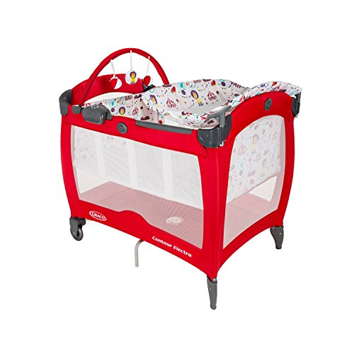 Best Price! Graco Contour Electra Travel Cot - Circus