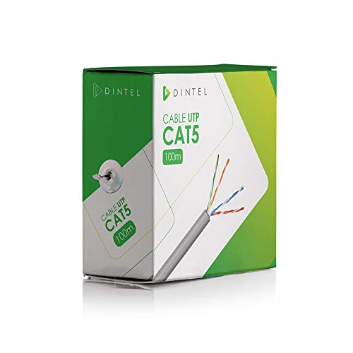 Dintel Cable de Red LAN Ethernet UTP 100m CAT5 Especial CCTV