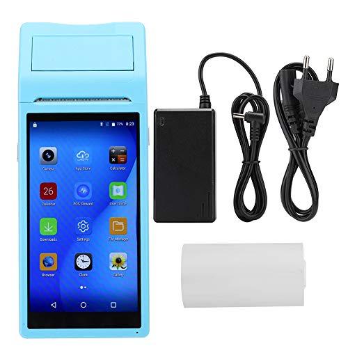 Hakeeta POS-Belegprinter, 58 mm, mini-Thermo-papier voor draagbare persoonlijke mobiele printers, 5,5 inch touchscreen, 4G, WiFi, bluetooth 4.0, Quad Core 1 + 8G, Android 6.0/IOS voor bedrijfsdocumenten., EU.