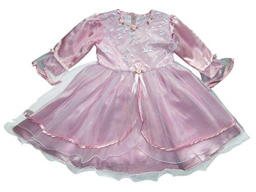 Seruna Tauf-Kleid JE02 Gr. 80/86 Baby-Kleider für Mädchen zur Taufe u. Hochzeit Geschenk-e für Babies