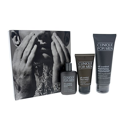 Clinique Great Skin For Him Oil Control For Men 3 Piece Kit