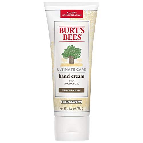 Burts Bees, Crema reparadora y cuidado para las cuticulas de manos y pies -...