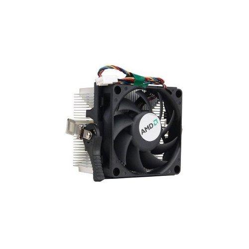 AMD Socket AM2 disipador de calor de aluminio y ventilador de 2.75 pulgadas con conector de 4 pines hasta Athlon X2 5000+