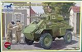 Unbekannt Bronco Models CB35081 - Modellbausatz Humber Armored Car Mk.IV -