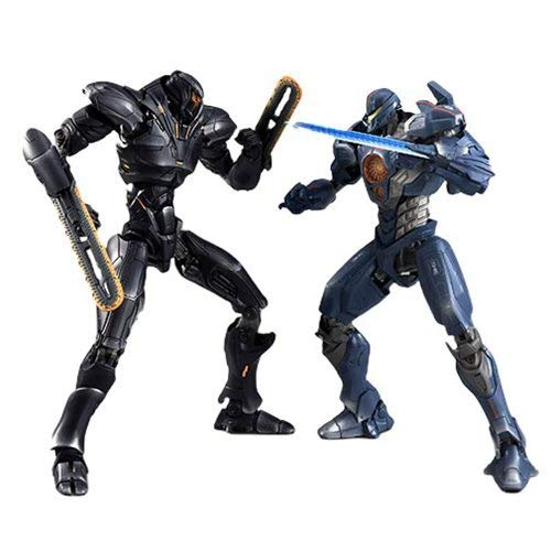 Tamashii Nations Pacific Rim Uprising: Obsidian Fury and Gypsy Avenger Action Figure Set - SDCC 2018 Exclusive