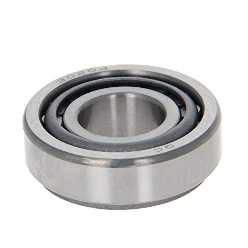 Othmro 30204 Tapered Roller Bearing Cone and Cup Set, 20mm Bore 47mm OD 15.25mm Thickness 1pcs
