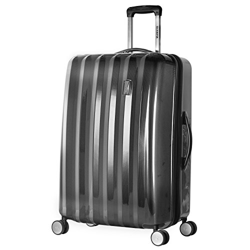 Olympia Luggage Titan 29 Inch Expandable Spinner, Black, One Size