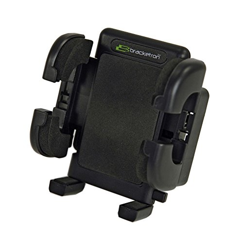 Bracketron Grip-iT Universal Smartphone Air Vent Car Mount Phone Holder Hands Free iPhone X 8 Plus 7 SE 6s 6 5s 5 4s Samsung Galaxy S9 S8 S7 S6 S5 Note Google Pixel 2 XL LG Nexus Sony Nokia PHV-200-BL