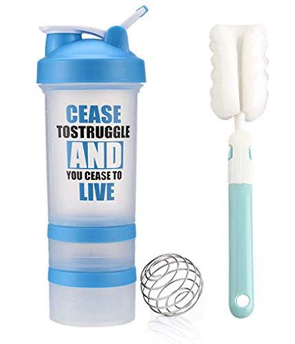 ZHFZD draagbare milkshake-shaker, sport-fitness-plastic beker ZHFZD 3 Kleur: