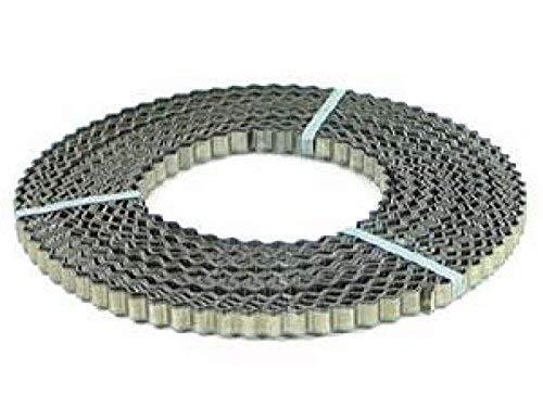 Bauwellenband 50 m Rolle 20 mm x 1 mm