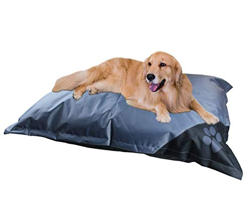 CnA Stores - Waterproof Pet Bed For Dogs - Non-Slip Fabric - Easy Care Wipe...