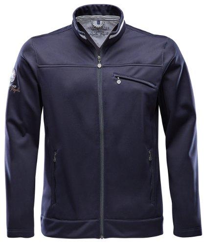 Marinepool Outdoor–Softshell Men RR Croisette Jacket, Unisex, Outdoor - Softshell MenRR Croisette Jacket, Blu Navy, XXL