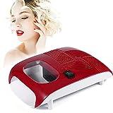 Secador de uñas, sensor de aire frío y caliente, secador de esmalte de uñas frío y caliente con ventilador, herramientas de manicura para secar esmalte de gel de uñas Soplador portátil para esmalte de