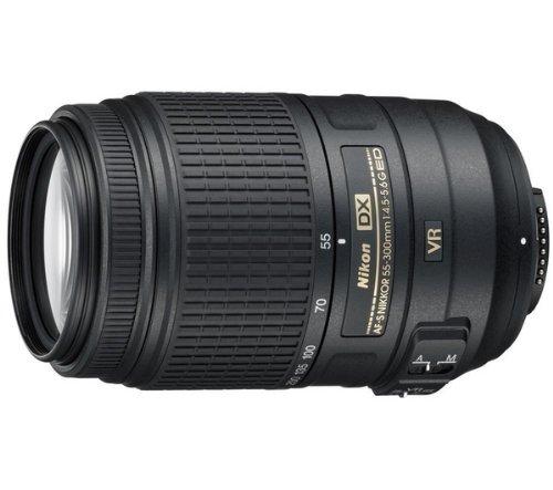 Nikon Objetivo AF-S DX 55-300 mm f/4,5-5,6 ED VR