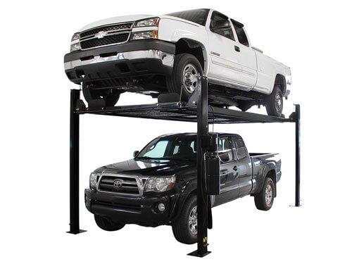 Atlas Garage Pro 8000 EXT-L Portable 8,000 Lbs. Capacity 4 Post Lift (EXTRA TALL, EXTRA LONG)