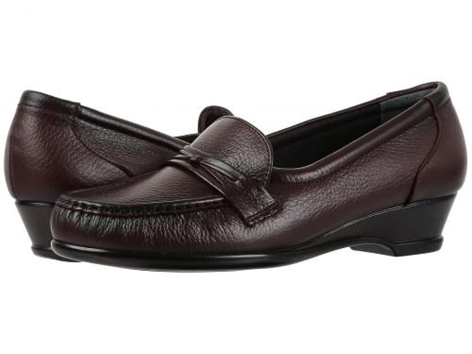 オセアニア勇者ハウジングSAS(サス) レディース 女性用 シューズ 靴 ローファー ボートシューズ Easier - Antique Wine [並行輸入品]