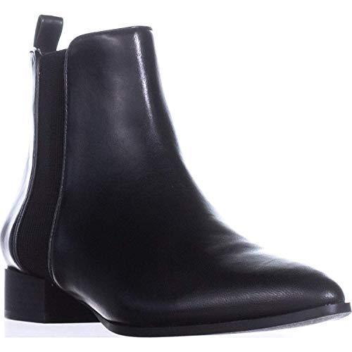DKNY Frauen Spitzenschuhe Leder Fashion Stiefel Schwarz Groesse 8.5 US /39.5 EU