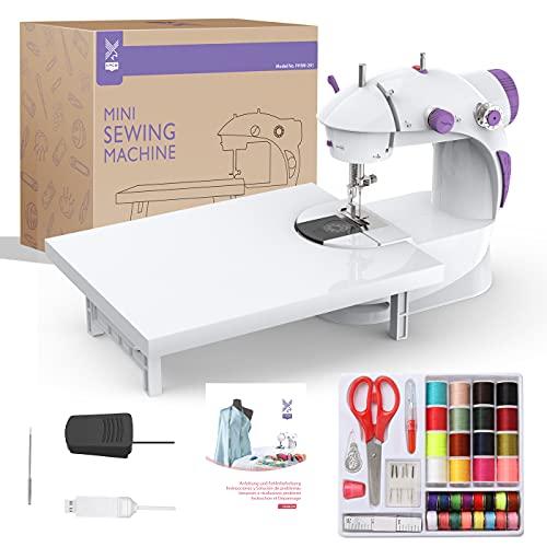 Máquina de Coser con Kit de Costura y Mesa de Extensión