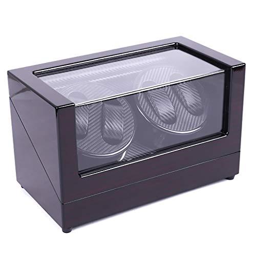 XQAQX Watch Winder 4 + 0 Automático Watch Winder Luxury Display Box...