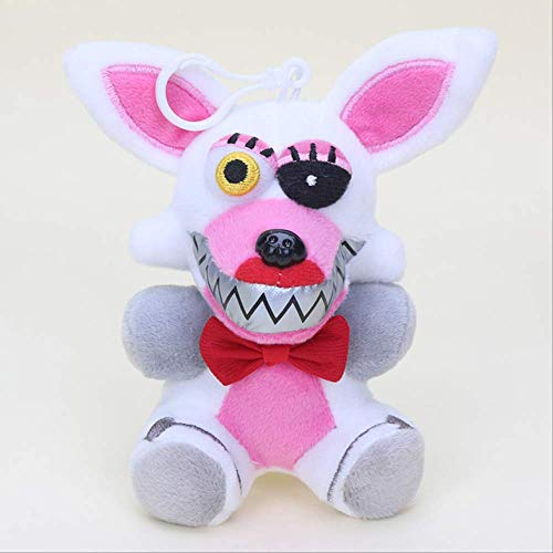 hzwh 14cm Nightmare Bear Phantom Fox Foxy Muñeca Colgante De Juguete Suave A
