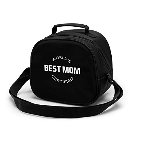 Best Mom Lunch Tote Lunch Bag Waterproof Reusable Lunch Box Portable Meal Bag Ice Pack For Kids Boys Girls
