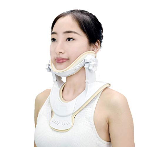 "Cervical Traction Device - Home Care Neck Traction Device to Relieve Pain and Compression, Traction Anytime and Anywhere (L/XL (Neck Circumference14""))"