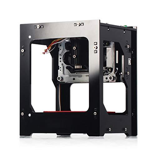 Tbest NEJE 3000mW La-ser Grabador Impresora Acrílico 490x490 Pixel USB Mini máquina de Grabado CNC Router Corte Operación Fuera de línea Impresora grabada para Papel de Madera Dise?o de Bricolaje