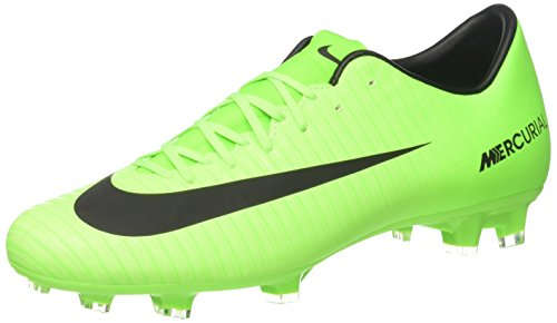 Nike Herren Mercurial Victory VI FG Fußballschuhe, Grün (Electric Green/Black-Flash Lime-White), 38.5 EU