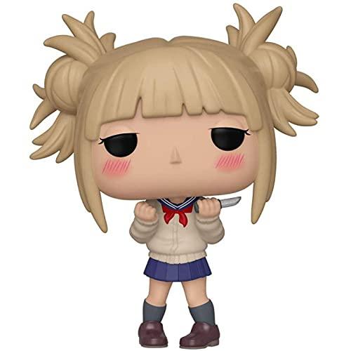 Figurine d'anime mon héros académique Himiko Toga 610 Pop figurine d'action en vinyle Collection modèle jouets 10 CM, figurines nendoroid Anime, jouets de bureau, Statue d'anime