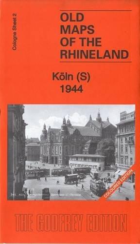 Old Maps Köln Blatt 02 South/Süd: Köln South 1944