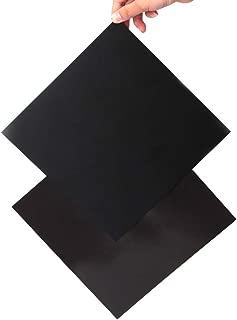 FYSETC 3D Printer Heated Bed Platform, 200X200 mm New Flex Magnetic Bed Build Plate 2 in 1 with Adhesive Backing Build Surface for Maker Select Plus V2 Prusa i3 Vinci 1.0 Tarantula I3 Ultimate Printer