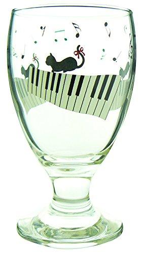 猫と音符 ジュースグラス 541023