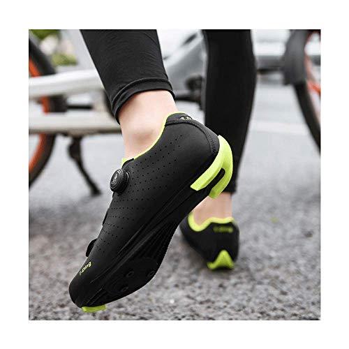 FACAI Pedales Planos para Hombre Zapatos De Bicicleta Zapatos De Triatlón para...