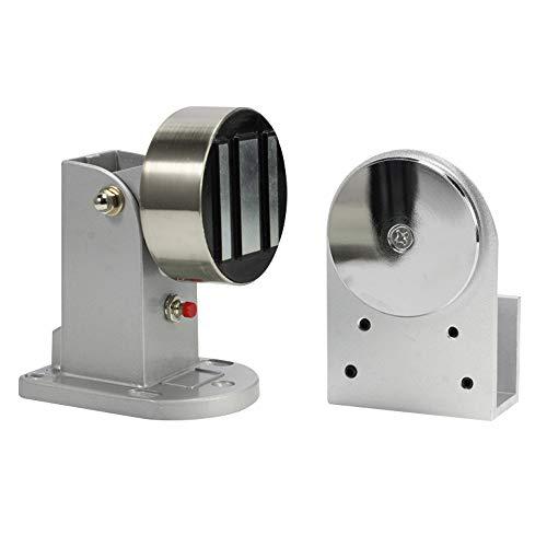 Türfeststeller Magnetisch - Edelstahl Magnet Türstopper,Elektromagnetische Magnetische Türabsaugung für Automatische Tür Glastür 60kg