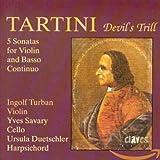 Tartini: El trino del diablo, sonatas para violin