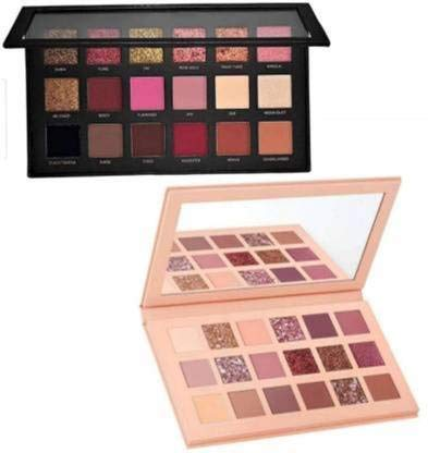URBANMAC Nude and Rose Gold Eyeshadow Palette combo