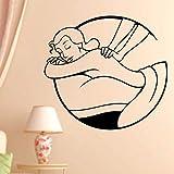 yaonuli Masaje SPA Decal Beauty Salon Sticker Beauty Vinyl Wall Decal Decoración Mural 50X50cm