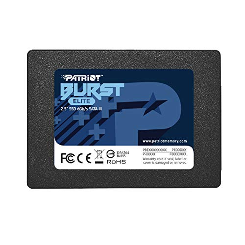 "SSD Disco Sólido Interno 2.5"" SATA III Interno Patriot Memory 120GB Burst Elite 6 Gbps"