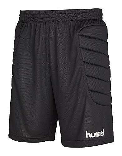 hummel Essential GK Pantalones Cortos para niño W Padding, niño, Essential Gk Shorts W Padding, Negro