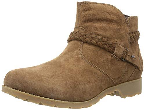 Teva Damen Delavina Ankle Stiefel, Braun (Bison), 36 EU