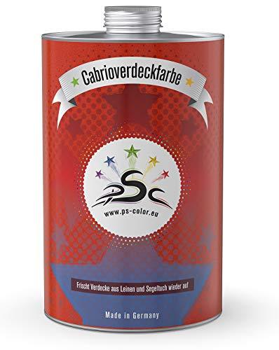 Penta Star Color Set-2 PSC-Cabrio-verdeck-Farbe 1000 ml Braun mit 400ml Imprägnierung Nach-färben Versieglung Auffrischung Waterproof wasserdicht-fest Pflege