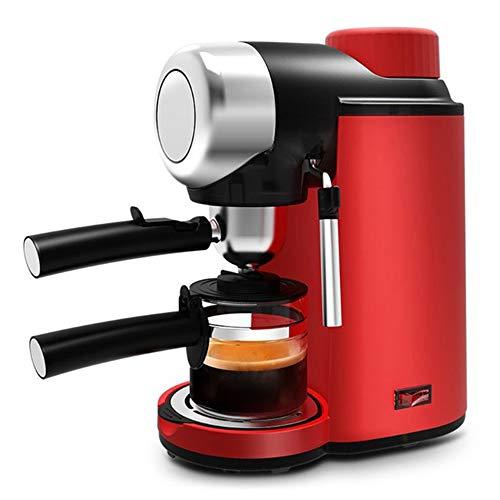Halfautomatische Espressomachine, Roestvrijstalen Koffiezetapparaat, Compact Duurzaam En Veilig, Makkelijk Schoon Te Maken, Ontlast Automatisch 5 Bar Druk